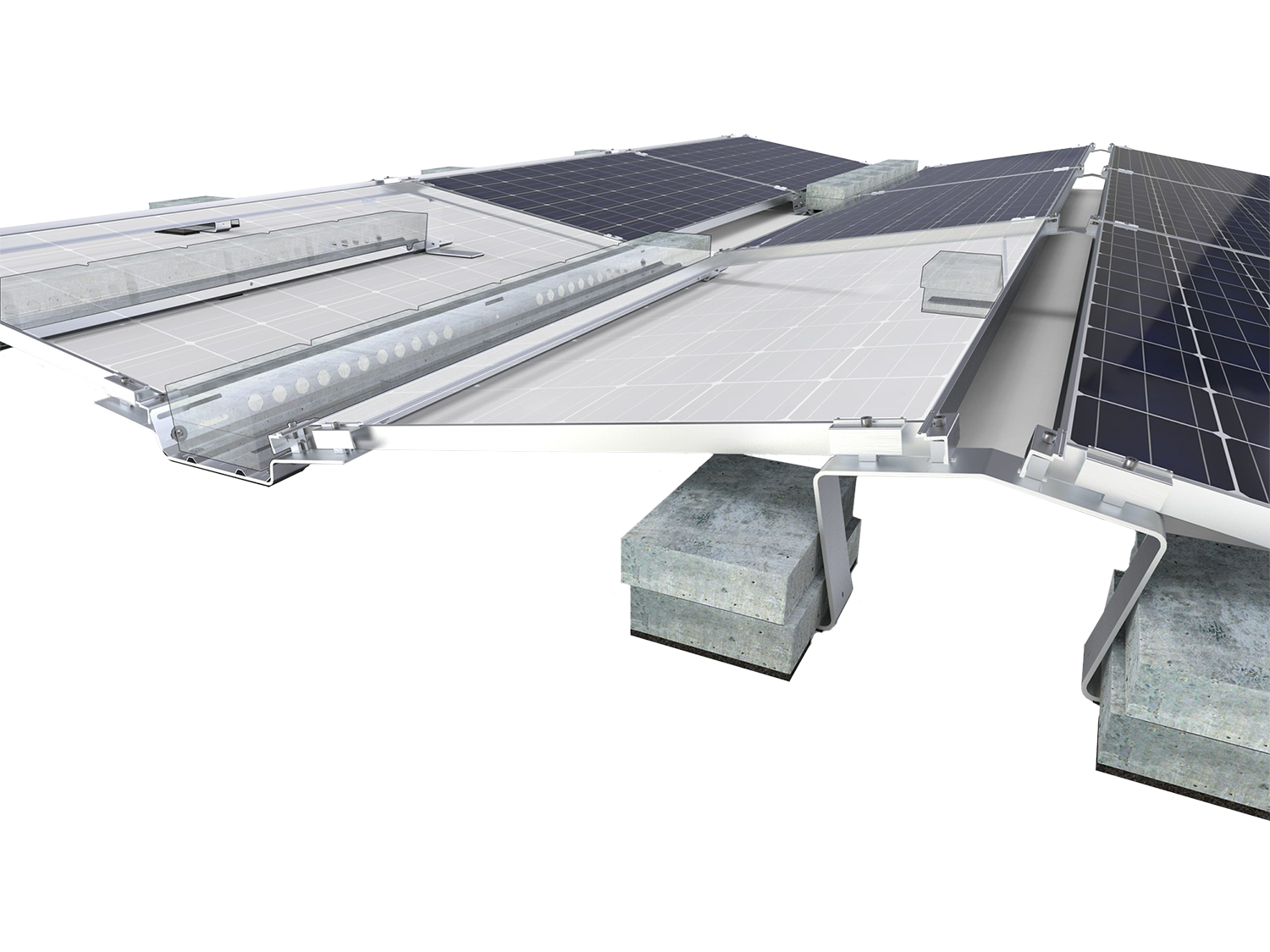 Solar panel mounting solutions
