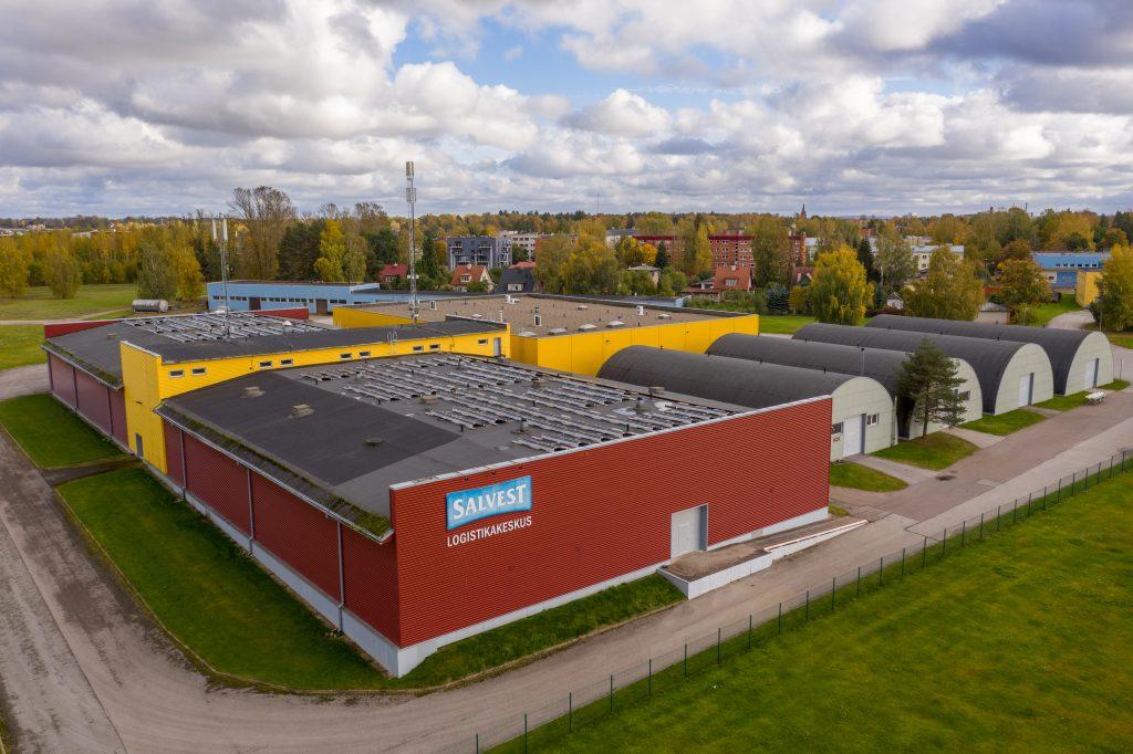 Salvesti tootmishoonete päikeseelektrijaamad