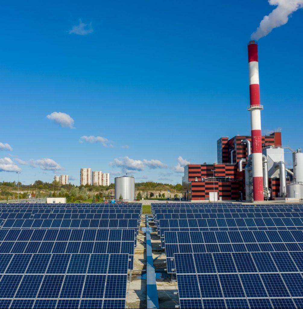 1.1MW Utilitase päikeseelektrijaam