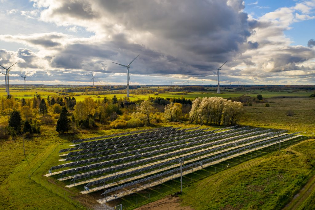 500kW kogu liitumisvõimsusega PV-jaam Ida-Eestis
