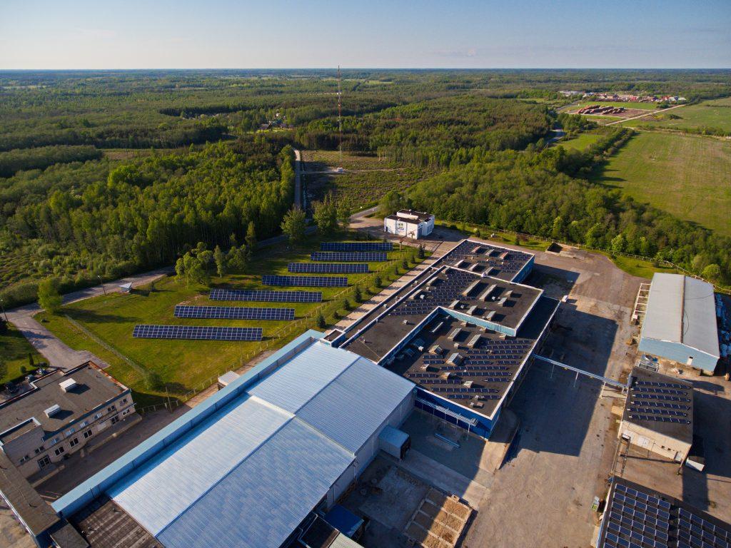 Saaremaa lihatööstuse päikesepark, 2015a