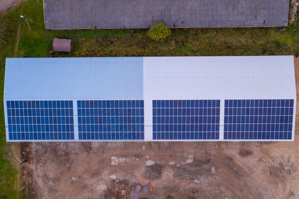 Põllumajandus- ja tööstushoonete PV-jaamade kompleks Lõuna-Eestis