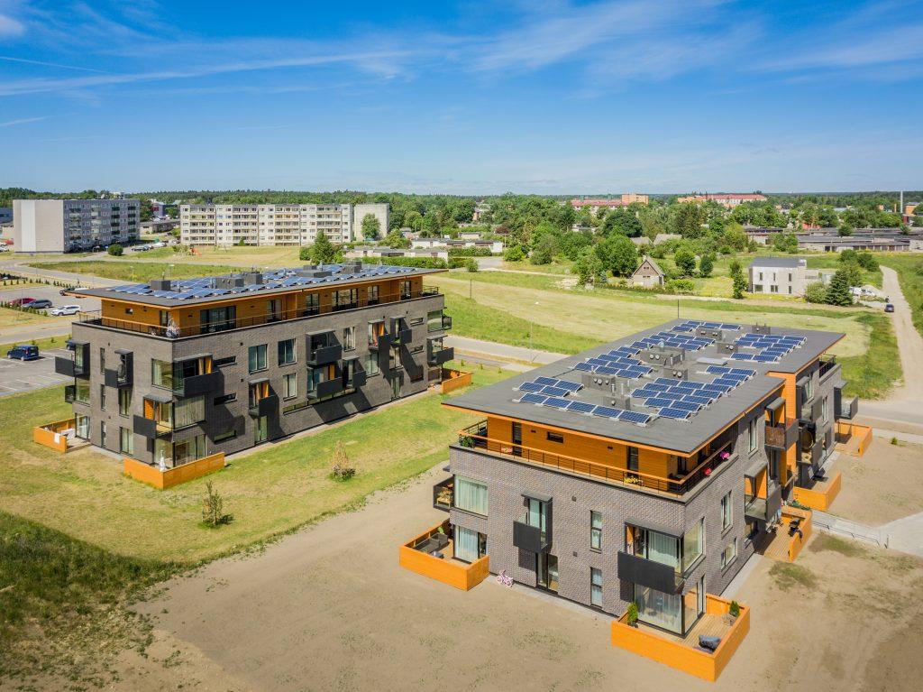Saku kortermajade päikesejaamad