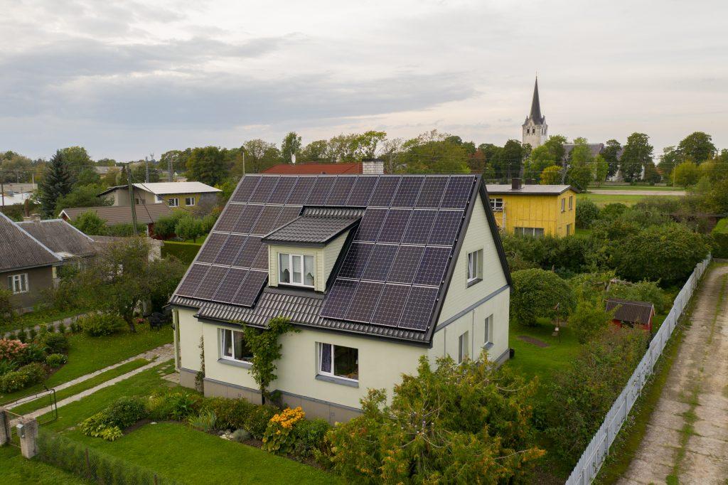 Keila aedlinna eramu päikeseelektrijaam