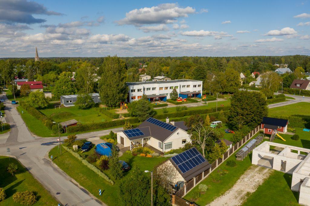 Mitme katusega lahendus Kesk-Eestis, 2018a