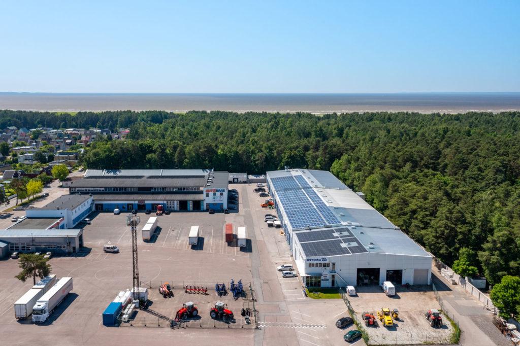 Tööstus- ja teenindushoonete päikeseelektrijaamad Pärnus